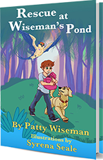 Rescue at Wiseman's Pond by Patty Wiseman, softcover edition